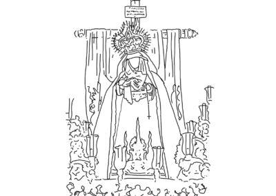 Ntra. Sra. de los Dolores en su Amparo y Misericordia