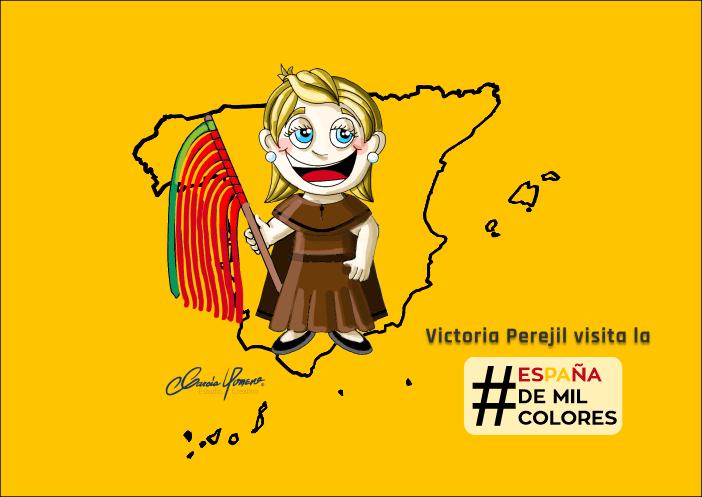 Victoria Perejil #EspañaDeMilColores